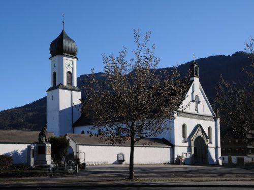 Die Auseinandersetzung trug sich nahe der Andelsbucher Kirche zu. Gemeinde