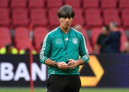 Auf Jogi Löw und seine DFB-Elf wartet ein brisantes Duell mit den Niederlanden.reu