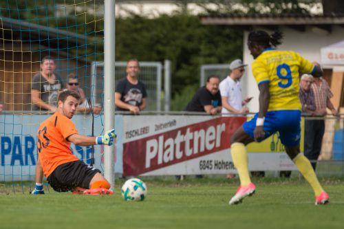 Auf Torhüter Lukas Hefel können sich die Vorderleutebeim FC Dornbirn verlassen. VN/Sams