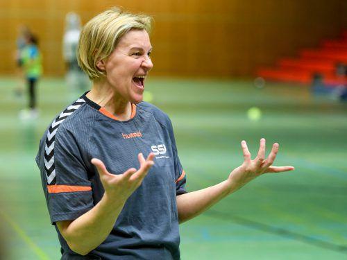 Ausra Fridrikas gewann das Trainerduell gegen Jasna Kolar-Merdan. VN/Lerch