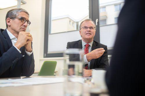 Bachmayr-Heyda (links) und Kräuter verstehen die Bundesregierung nicht. VN/Sams