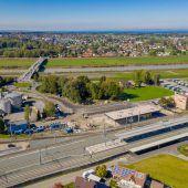 In Lustenau wird an Mobilitätsdrehscheibe gebaut