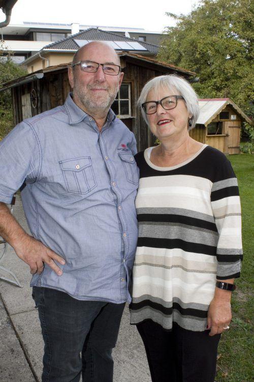 Begeisterte Zuhörer: Herbert und Annelies Klas.