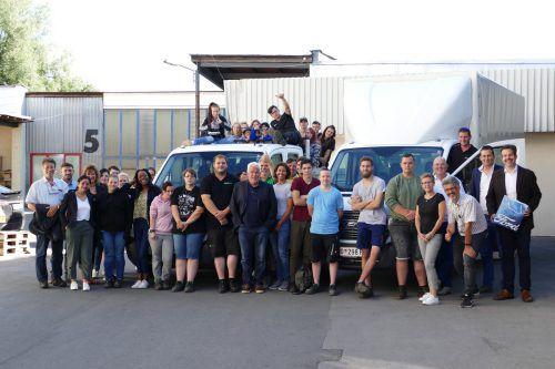 Bei den Dornbirner Jugendwerkstätten arbeiten Jugendliche aus rund 18 verschiedenen Nationen. Sie zeigen, dass ein friedliches Miteinander möglich ist.DJW