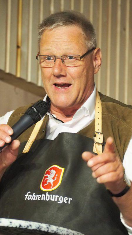 Der erkrankte Bürgermeister von Laterns, Heinz Ludescher, gibt sein Amt ab. Archiv