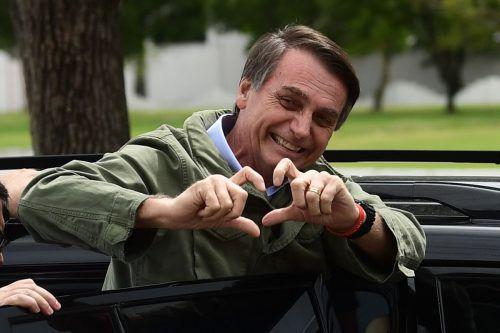 Bolsonaro tritt am 1. Jänner das Amt des brasilianischen Präsidenten an. AFP