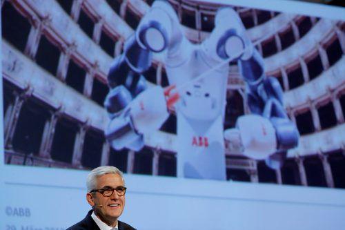 CEO Ulrich Spiesshofer läßt in Schanghai bauen.Reuters