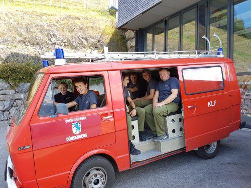 Das 40 Jahre alte Transportfahrzeug hat in Dünserberg bald ausgedient. OF