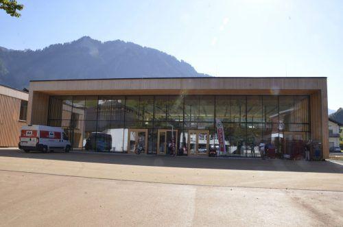 Das Gemeindezentrum in Mellau soll am 11. November eröffnet werden. V. Rüf