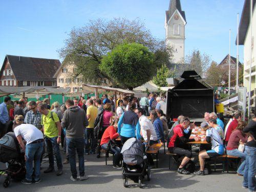 Das Hohenweiler Herbstmärktle wird am Sonntag wieder zum beliebten Treffpunkt. gemeinde