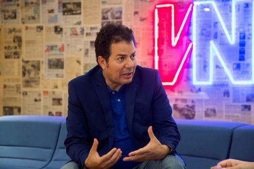 """""""Das Kopftuch war immer schon ein Vorbote der Islamisierung"""", sagt der ägyptisch-deutsche Autor Hamed Abdel-Samad. VN/Paulitsch"""