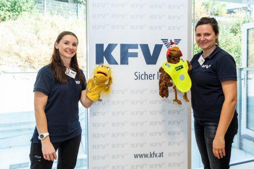 """Das Kuratorium für Verkehrssicherheit lädt Schulen und Kindergärten zur kostenlosen """"Aktion Glühwürmchen"""" ein. kfv"""