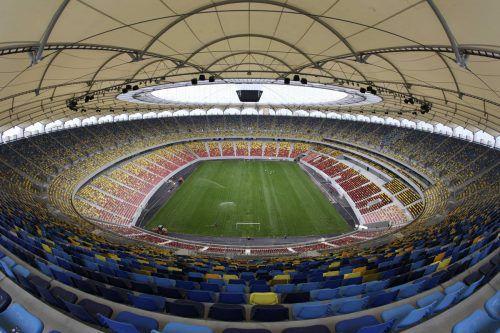 Das Lia Manoliu-Stadion in der rumänischen Hauptstadt Bukarest hat ebenfalls ein bewegliches Eccon-Dach. Reuters