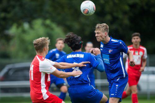 Das U18-Team behält gegen Ried die Oberhand und feiert ersten Saisonsieg.VN-Steurer