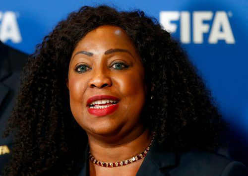 Den Fußball für Frauen leichter zugänglich machen will Fatma Samoura. reuters