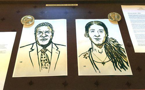 Denis Mukwege und Nadia Murad werden für ihren Einsatz mit dem Nobelpreis ausgezeichnet.reuters