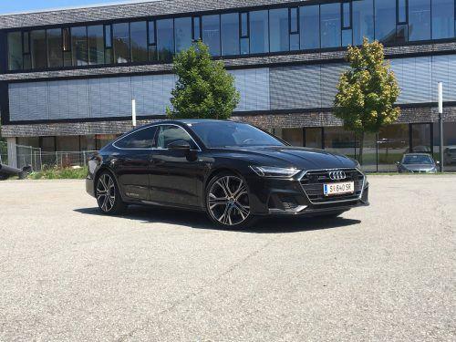 Der Audi A7 verbindet schickes Design mit höchsten technischen Ansprüchen.vn/Gasser