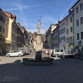 Keine Autos mehr in Feldkircher Neustadt