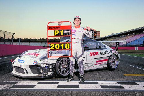 Der Dornbirner Sebastian Daum sicherte sich nach einer fantastischen Saison im Porsche-Super-Sports-Cup-Deutschland seinen ersten Titelgewinn in seiner noch jungen Motorsport-Karriere.Cartech