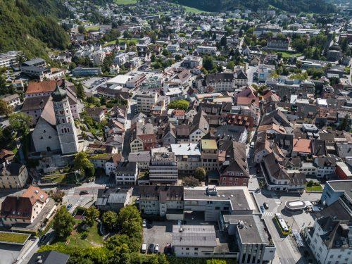 Die Wirtschaftsgemeinschaft Bludenz, die heute mehr als 100 Mitglieder zählt, bemüht sich erfolgreich um die Belebung der Stadt. vn/steurer