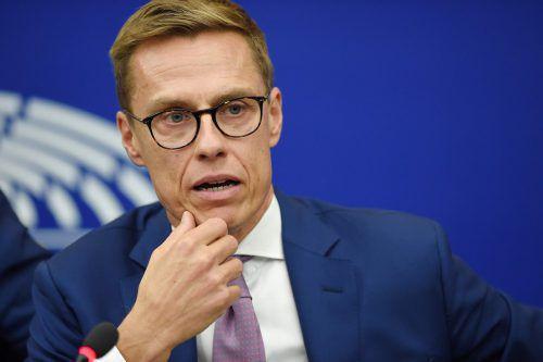 Der Finne Alexander Stubb will EU-Kommissionspräsident werden. afp
