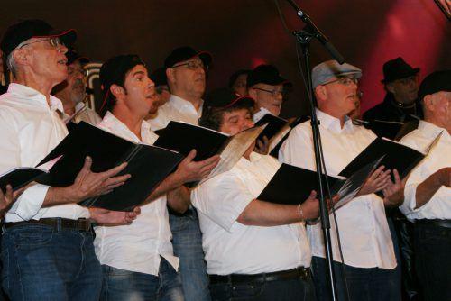 Der Gesangsverein Hohenems hatte ein abwechslungsreiches Programm an Popsongs einstudiert. pe