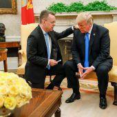 Brunson betet für Trump