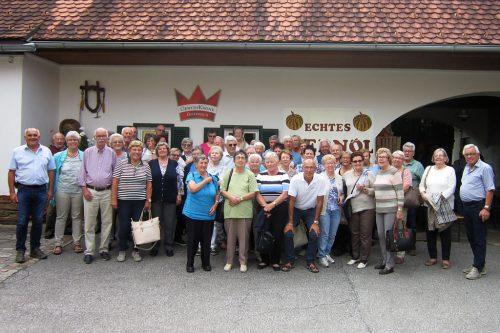 Der Seniorenbund Dornbirn erlebten interessante Tage in der Südsteiermar50plus