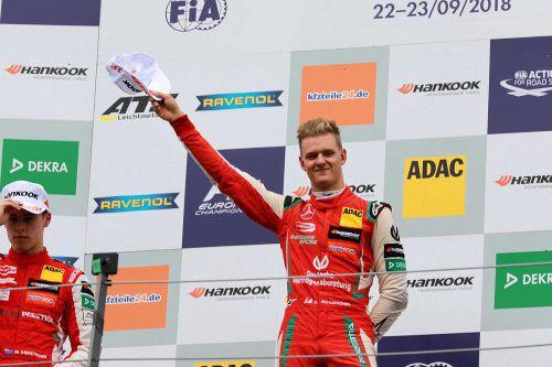 Der Superlizenz, die einen Formel-1-Start erlauben würde, nahe: Mick Schumacher.noger