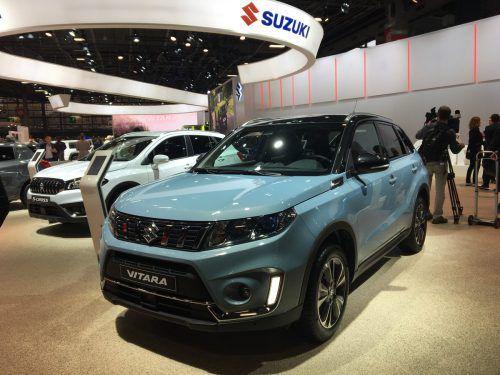 Der Suzuki Vitara präsentiert sich als Messepremiere gründlich überarbeitet.