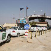 Grenzübergang zu Syrien geöffnet