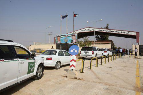 Der Übergang zwischen Jordanien und Syrien war drei Jahre lang geschlossen. AFP