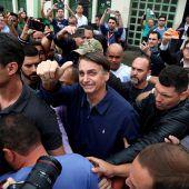 Trump Brasiliens Bolsonaro gewinnt erste Wahlrunde