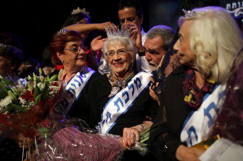 Die 93-jährige Holocaust-Überlebende Tova Ringer wurde in Haifa zur Siegerin gekürt. Im Mittelpunkt dieser Wahl steht die Persönlichkeit. Reuters