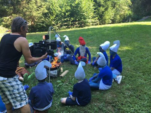Die Achnus-Filmcrew aus Wolfurt hat im Sommer mit engagierten Kindern einen Film gedreht. Nun wird das Ergebnis dem Publikum gezeigt.