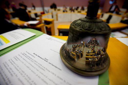 Die Anpassung des Kinder- und Jugendschutzgesetzes stieß bei allen Landtagsfraktionen auf Zustimmung. VN/Hartinger
