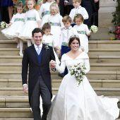 Royals und Stars bei der Hochzeit von Prinzessin Eugenie