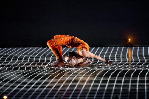 """Die Compagnie Käfig zeigt """"Pixel"""" und aus Vorarlberg ist wiederum Silvia Salzmann mit einer neuen Produktion für Kinder dabei. BF/Laurent Philippe, Salzmann"""