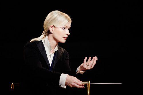 Die Estin Anu Tali ist die erste Dirigentin, die das Symphonieorchester bei einem Abo-Konzert leitet.kaupo kikas