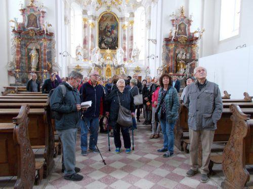 Die Hohenemser Gruppe bekam von Historiker Christoph Volaucnik viele Informationen.
