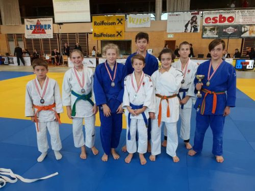 Die Judokas aus Dornbirn präsentieren sich aktuell in Topform und sammeln fleißig Titel.cth