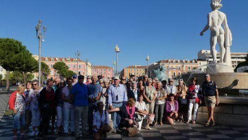 Die Lochauer Senioren verbrachten schöne Tage an der Riviera. sb lochau