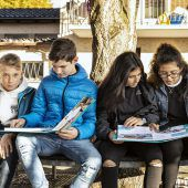 Wirtschaft und Schüler zusammenbringen