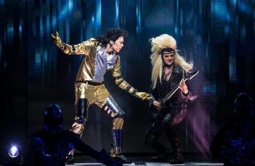 Die neue Bühnenshow präsentiert die größten Jackson-Hits mit tollen Choreografien. harald fuhr/Beat it