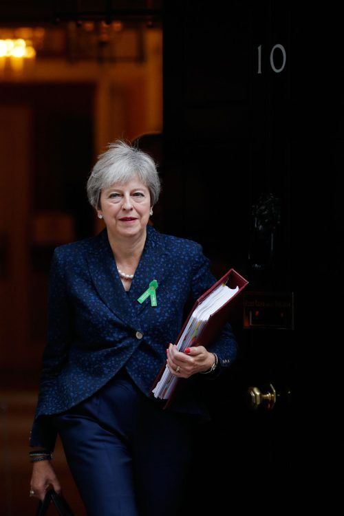 Die Parlamentsabstimmung hält wohl noch die eine oder andere Überraschung bereit. May bekommt möglicherweise Unterstützung von der Opposition.AFP