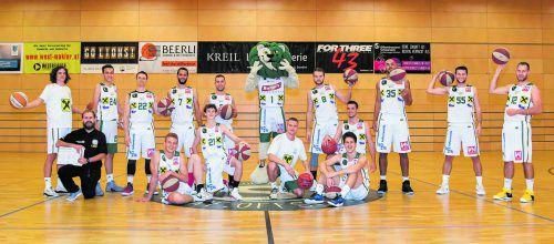 Die Raiffeisen Dornbirn Lions starten am Samstag (18.30 Uhr) mit dem Heimspiel gegen die Raiders Villach in ihre 20. Saison in der zweiten Basketball-Bundesliga.VN/Lerch