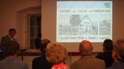 Die Rankler Gastronomie profitierte vom Markttreiben in der Gemeinde. egle