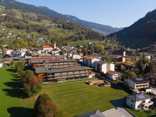 Die Reha-Klinik Montafon soll um einen dritten Baukörper erweitert weden. VN-Hartinger