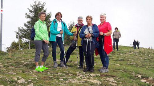 Die Senioren auf ihrer Wanderung.VLBG Seniorenring