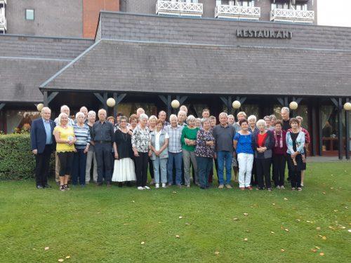 Die Seniorenbund Reisegruppe in Bad Bük.vorarlberger seniorenbund